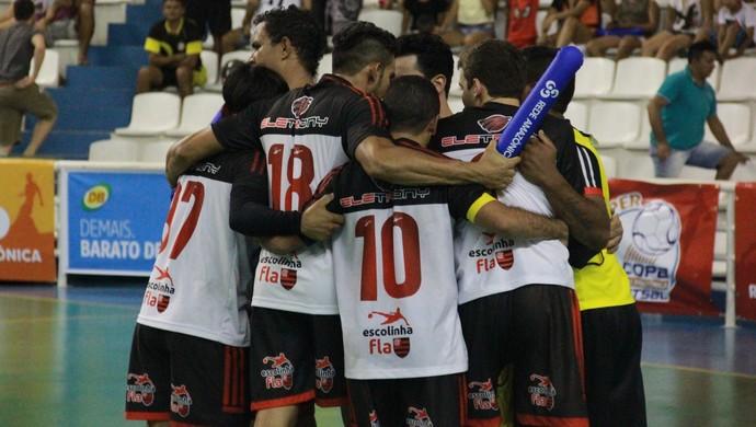 Neo FC-RR estrou com vitória na Super Copa Rede Amazônica de futsal (Foto: Marcos Dantas)