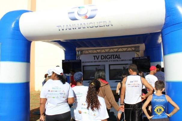 Os rioverdenses serão os primeiros do Brasil a viver em uma cidade 100% digital. (Foto: TV Anhanguera)