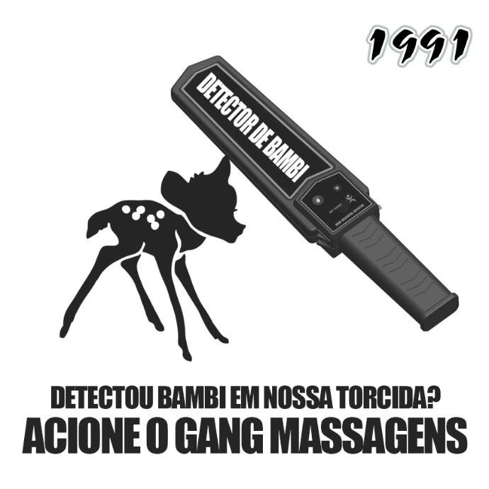 Torcida Organizada ABC polêmica Bambi (Foto: Reprodução)