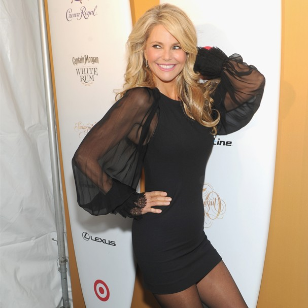 Christie Brinkley ostentando beleza em evento recente (Foto: Getty Images)