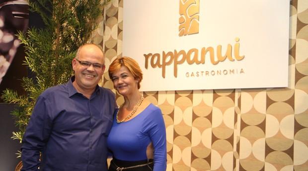Ricardo e Margareth dividem as frentes do bufê Rappanui (Foto: Divulgação)