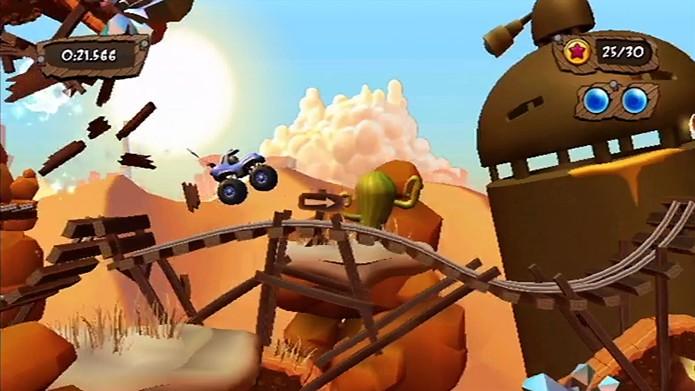 Participe de empolgantes corridas com MotoHeroz (Foto: Divulgação/Ubisoft)