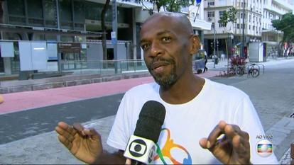 Renato Sorriso vai receber a Tocha Olímpica na Cinelândia