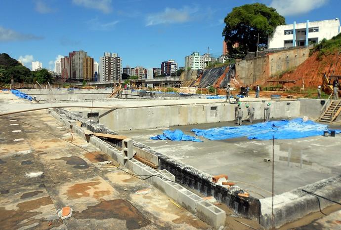 Centro Aquático da Bahia (Foto: Raphael Carneiro)