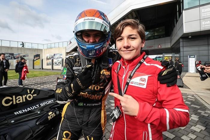 Enzo Fittipaldi com o irmão Pietro
