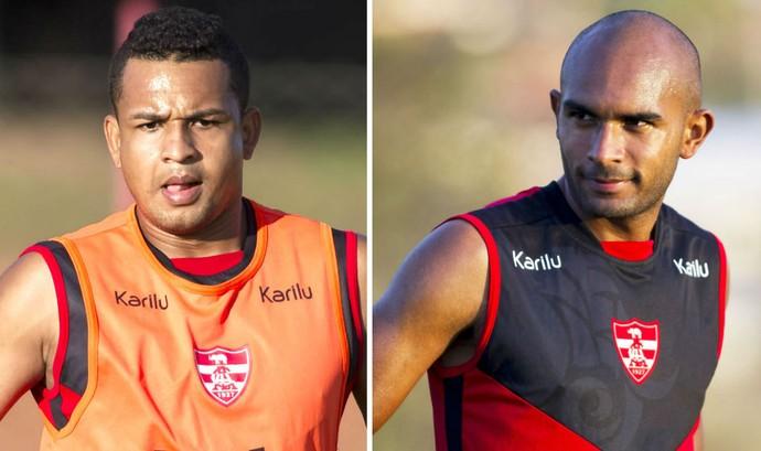 Atacante Tardelli, lateral-direito Felipe Cordeiro, reforços, Linense, Copa Paulista (Foto: José Luis Silva / Ag. CA Linense)