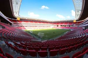 Arena de Pernambuco Náutico x Criciúma (Foto: Marlon Costa / Pernambuco Press)