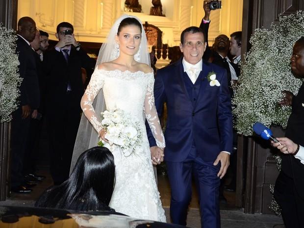 Casamento de Eri Johnson e Alice Souto (Foto: Roberto Teixeira / ego)
