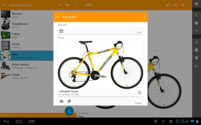 Memento DataBase  é um aplicativo de gerenciamento de dados (Foto: Divulgação)
