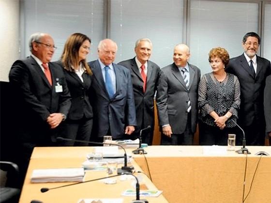 Reunião do Conselho de Administração da Petrobras (2010) (Foto: reprodução)