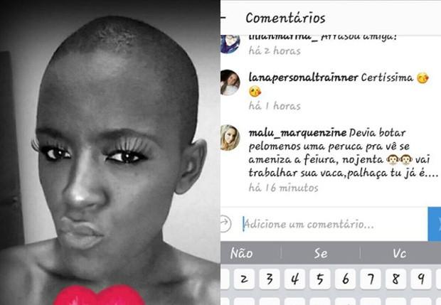 Angélica Ramos afirma que vai processar seguidora (Foto: Reprodução)
