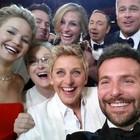 FOTOS: Oscar teve 'selfie' e pedido de pizza (AP Photo/Ellen DeGeneres)