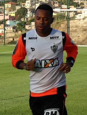 Robinho, atacante do Atlético-MG (Foto: Fernando Martins Y Miguel)