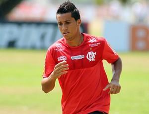 Magal no treino do Flamengo (Foto: Bernardo Monteiro / VIPCOMM)