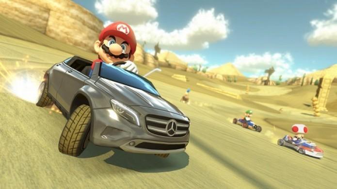 Mario Kart 8 receberá DLC pela Mercedes-Benz (Foto: Reprodução/Joystiq)
