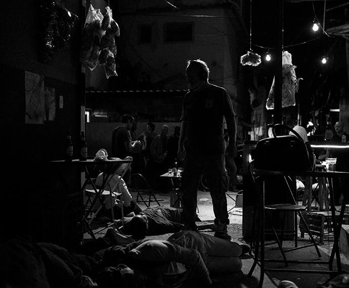 Momentos de uma das cenas mais emblemáticas da trama (Foto: Inácio Moraes/Gshow)