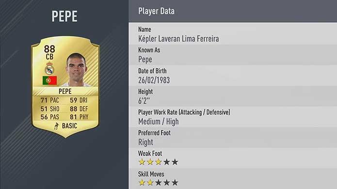 Famoso zagueiro do Real é um dos melhores de Fifa 17 (Foto: Divulgação/EA Sports)