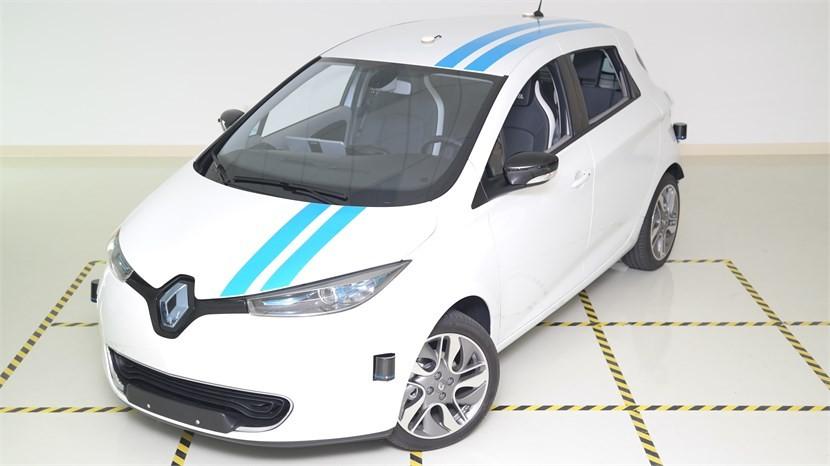 Carro apresentado na Renault Open Innovation Lab  (Foto: Divulgação)