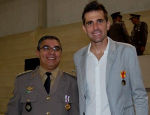 victor medalha grêmio brigada militar goleiro (Foto: Bruno Junqueira/TRATO.TXT)
