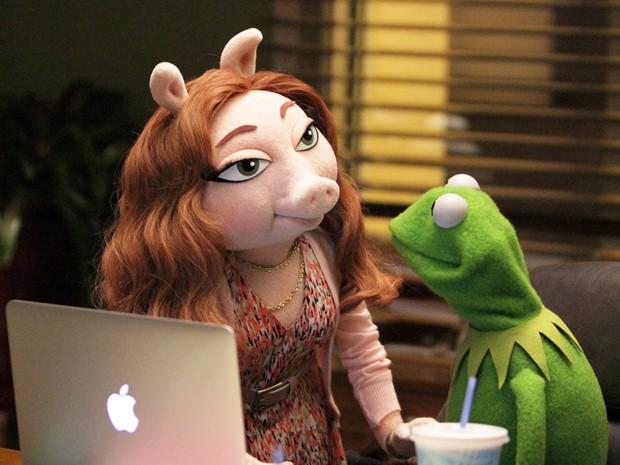 Denise, a nova namorada de Kermit (Foto: Divulgação/ABC)