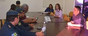 TV Sergipe realiza reunião técnica para definir detalhes do debate entre candidatos a prefeito (Divulgação / TV Sergipe)