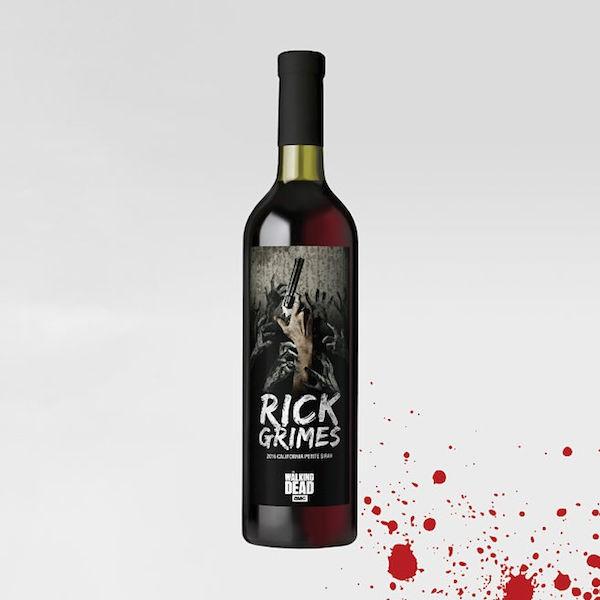 O vinho Rick inspirado no personagem da série The Walking Dead (Foto: Divulgação)