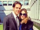 Revista diz que casamento de Kaká e Carol Celico terminou. Assessoria nega