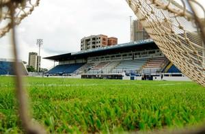 Estádio Bento de Abreu, em Marília (Foto: Rodrigo Villalba / Memory Press)