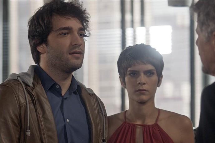 Tiago joga verdades na cara de Tião (Foto: TV Globo)