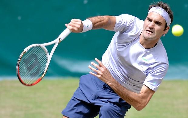 Tênis, Atp Halle, Federer (Foto: Agência AP)