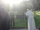 Papa inaugura monumento a Nossa Senhora Aparecida no Vaticano