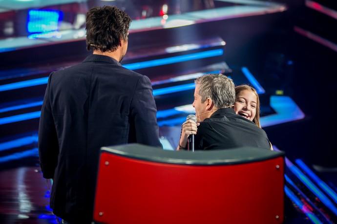 Gigi Fonseca é do Time Victor & Leo (Foto: Isabella Pinheiro/Gshow)