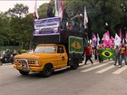 Centrais sindicais fazem manifestações nas 26 capitais e no DF