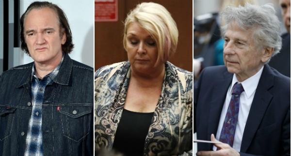 Quentin Trantino, Samantha Geimer e Roman Polanski (Foto: Getty Images)