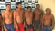 Dez pessoas são presas suspeitas de integrarem quadrilha que assaltava em embarcações