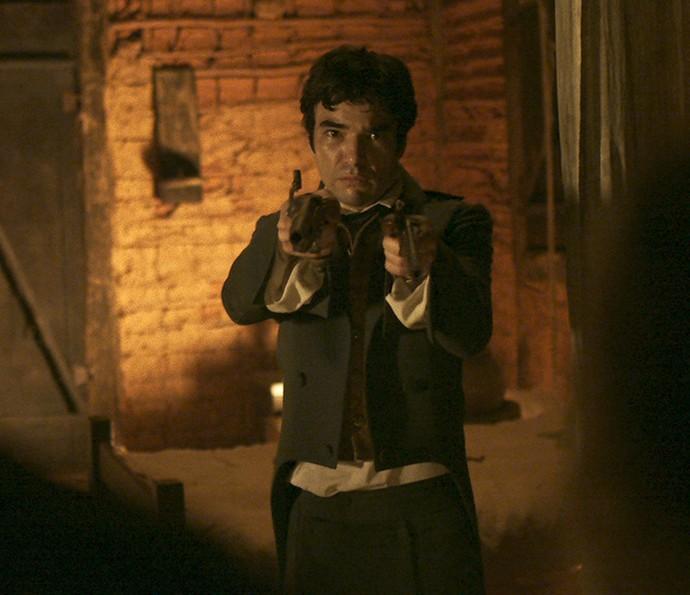 André está em processo de descoberta (Foto: TV Globo)
