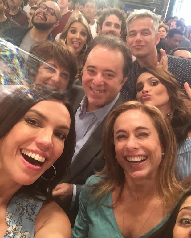 Ana Paula Araújo, Tony Ramos, Cissa Guimarães, entre outros (Foto: Reprodução/Instagram)