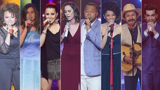 'Shows ao Vivo' eliminam mais 8 participantes do 'The Voice': saiba como estão os times!