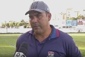 Kiko Araújo, treinador do Araguaia (Foto: Reprodução/TVCA)