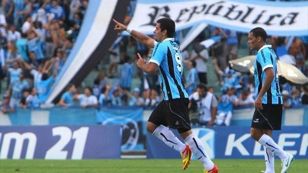 André Lima, Grêmio (Foto: Lucas Uebel, divulgação Grêmio)