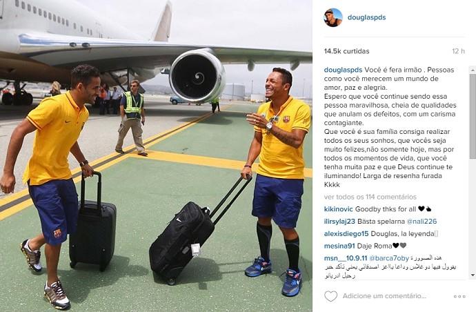 BLOG: Despedida? Alvo do Roma, Adriano ganha homenagem em post de Douglas