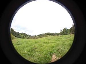 Terreno onde será construído o Polo Astronômico de Amparo, que deve ficar pronto em 2014 (Foto: Divulgação/Sphaera Planetaria)
