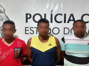 Oiapoque, roubo, casa, amapá, madeira, (Foto: Divulgação/Polícia Civil)
