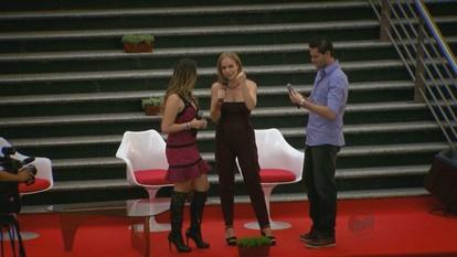 Angélica lança o programa 'Estrelas' na EPTV em Campinas