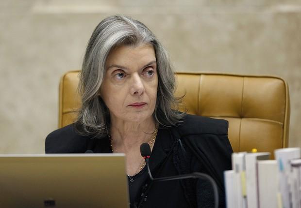 A presidente do Supremo Tribunal Federal (STF), ministra Cármen Lúcia (Foto: Carlos Moura/SCO/STF)