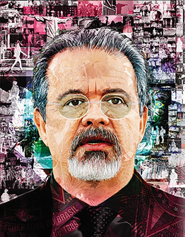 Ilustração Delegado (Foto: Túlio Fagim)