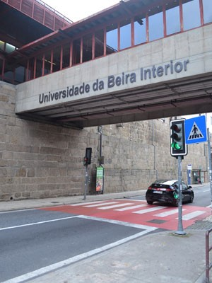 Entrada da Universidade da Beira Interior. (Foto: Arquivo pessoal/Fabio Giacomelli)