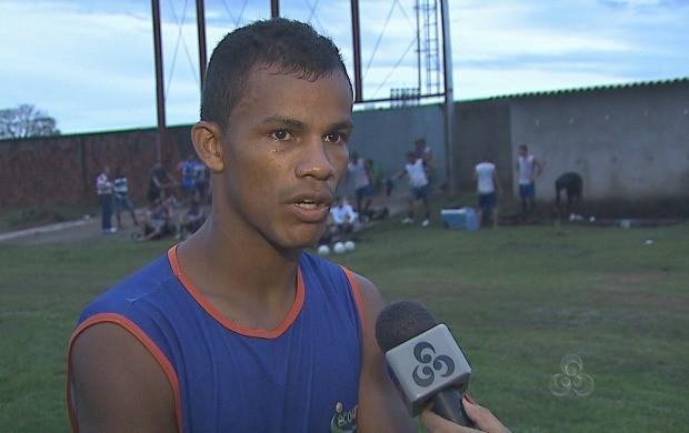 Atacante do Galo, Gessé, falou sobre a convocação de Felipão (Foto: Bom Dia Amazônia)