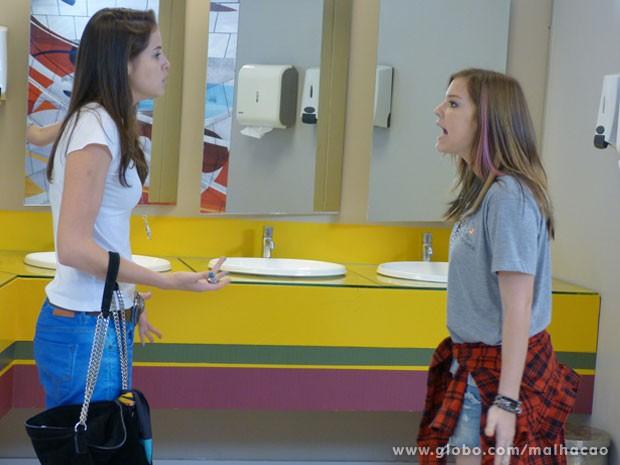 Será que a amizade de #JuLia tá em perigo de novo? (Foto: Malhação / Tv Globo)