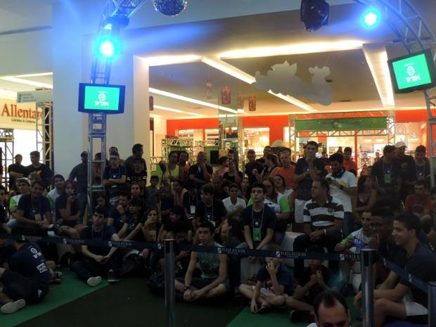 Público presente no TEM GAMES superou as expectativas (Foto: Bruna Alves/G1)